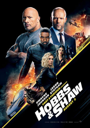 Hobbs And Shaw 2019 HDCAM 300MB English 480p