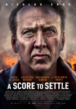 A Score to Settle 2019 WEB-DL 300MB English 480p ESub