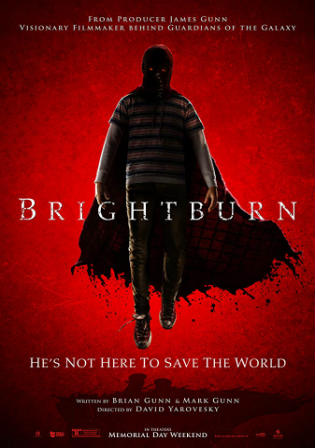 Brightburn 2019 WEB-DL 300Mb English 480p ESub