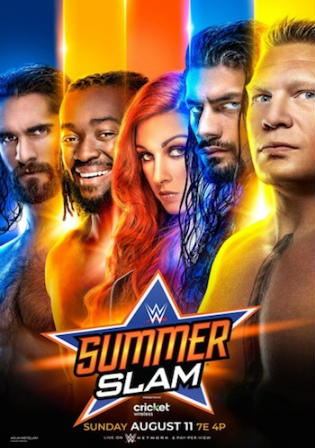 WWE Summer Slam 2019 PPV WEBRip 480p 800MB
