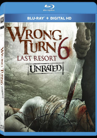 Wrong Turn 6 Last Resort 2014 BRRip 300MB UNRATED English 480p