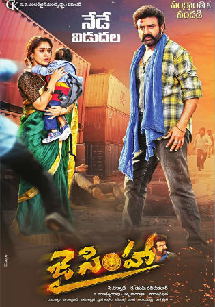 Jai Simha 2019 HDRip 950MB Hindi Dubbed 720p