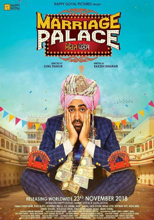 Marriage Palace 2018 WEB-DL 400Mb Punjabi 480p Watch Online Full Movie Download bolly4u