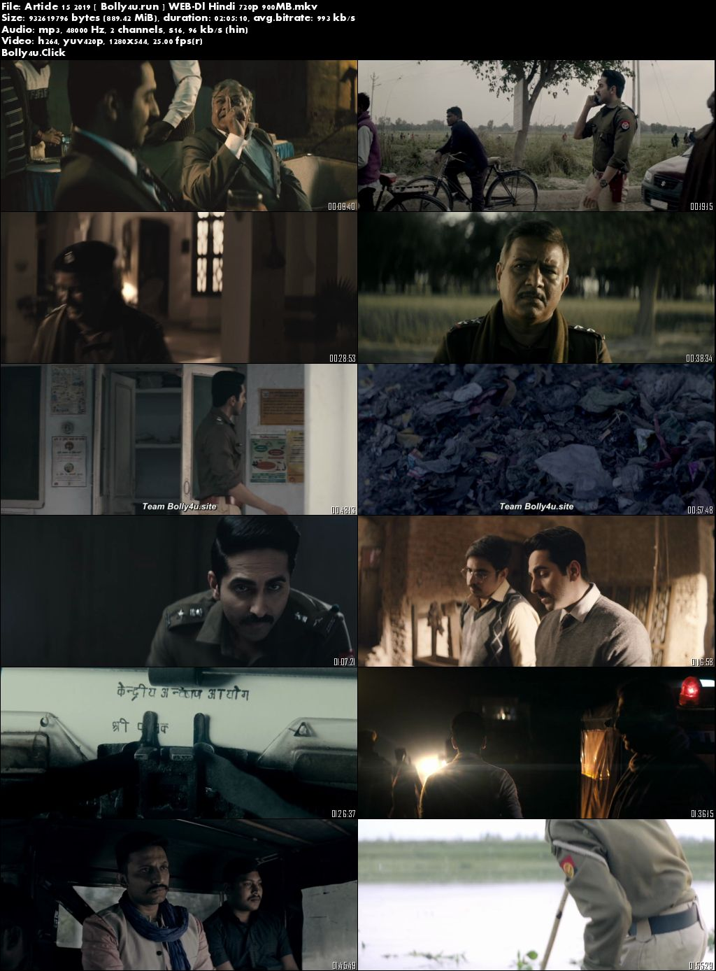 Article 15 2019 WEB-DL 900Mb Full Hindi Movie Download 720p