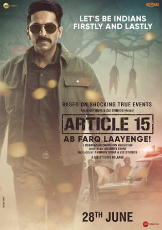 Article 15 2019 WEB-DL 900Mb Full Hindi Movie Download 720p Watch Online Free bolly4u