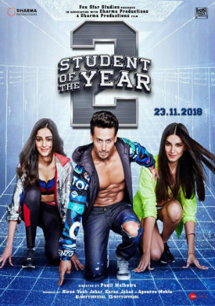 Student of The Year 2 2019 WEB-DL 400Mb Full Hindi Movie Download 480p Watch Online Free bolly4u