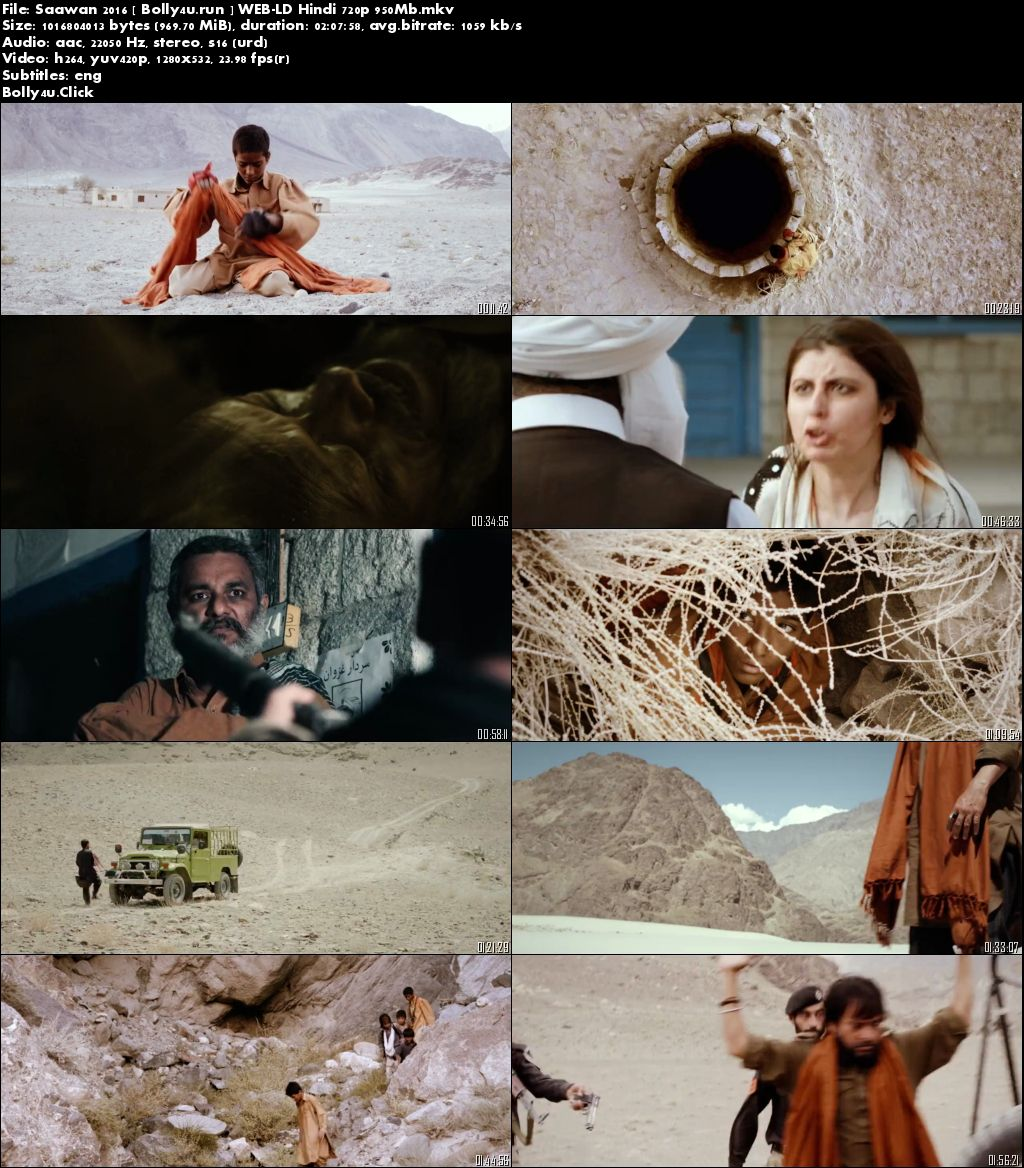 Saawan 2016 WEB-DL 950Mb Urdu 720p Download