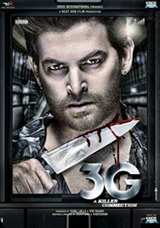3G A Killer Connection 2013 HDRip 300Mb Full Hindi Movie Download 480p Watch Online Free bolly4u