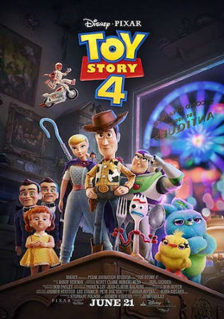 Toy Story 4 2019 HDRip 300MB Hindi Dual Audio 480p Watch Online Full Movie Download bolly4u