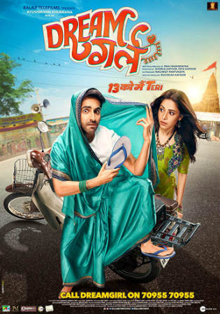 Dream Girl 2019 Pre DVDRip 300MB Full Hindi Movie Download 480p Watch Online Free bolly4u