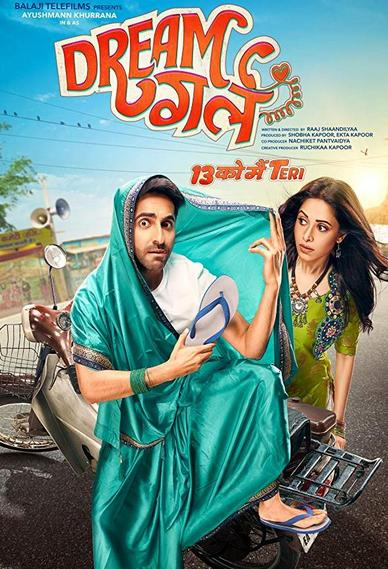 Dream Girl 2019 Full Movie Pre DvDRip Hindi 720p