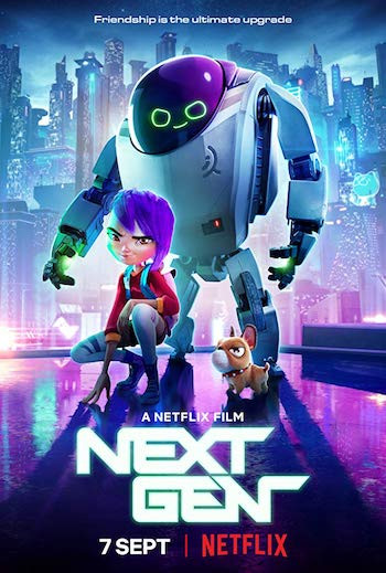 Next Gen 2018 Full Movie Hindi 800MB Dual Audio WEBDL 720p
