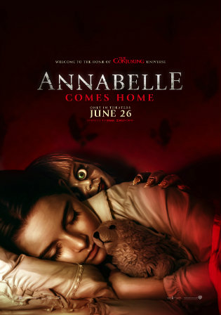 Annabelle Comes Home 2019 WEB-DL 300MB English 480p ESubs