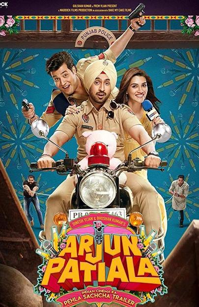 Arjun Patiala 2019 300MB Movie HDRip Esubs Hindi 480p