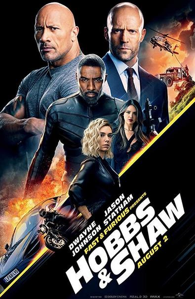 Hobbs & Shaw 2019 HC HDRip Hindi 950MB Dual Audio 720p