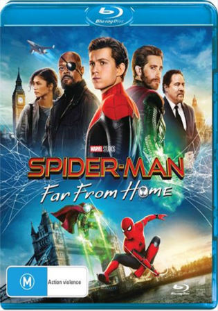 Spider-man Far From Home 2019 BRRip 300Mb English 480p ESub