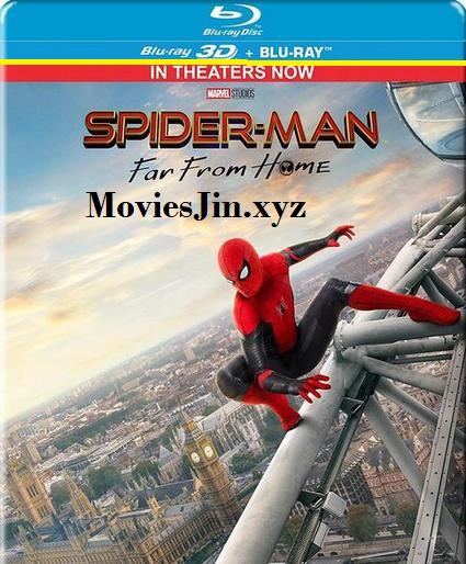 Spider Man Far from Home 2019 400MB BRRip Hindi org Dual Audio 480p