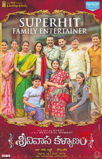 Srinivasa Kalyanam 2019 HDRip Movie 900MB Hindi Dubbed 720p