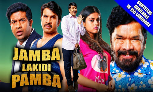 Jamba Lakidi Pamba 2019 HDRip 850Mb Hindi Dubbed 720p