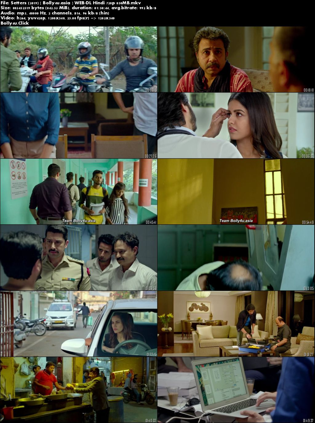 Setters 2019 WEB-DL 300Mb Full Hindi Movie Download 480p
