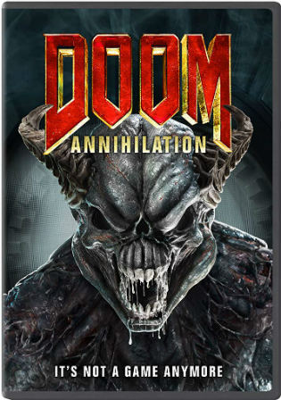 Doom Annihilation 2019 HDRip 850Mb Hindi Dubbed 720p