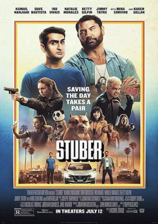 Stuber 2019 WEB-DL 300Mb English 480p ESub Watch Online Full Movie Download bolly4u