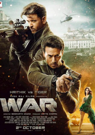 War 2019 Pre DVDRip 1GB Full Hindi Movie Download 720p