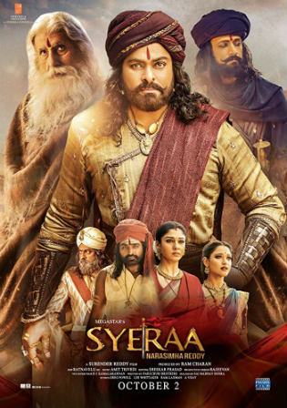 Sye Raa Narasimha Reddy 2019 Pre DVDRip 1.1GB Hindi 720p
