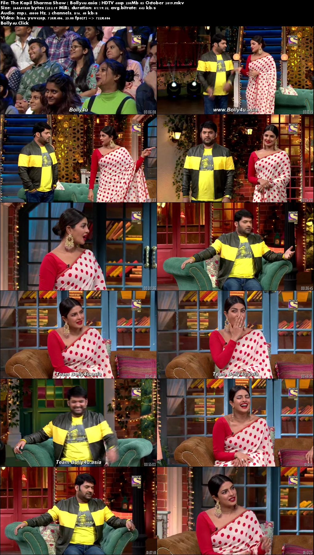 The Kapil Sharma Show HDTV 480p 250Mb 05 October 2019 Download