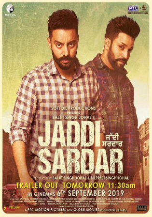 Jaddi Sardar 2019 WEB-DL 1GB Punjabi 720p Watch Online Full Movie Download bolly4u