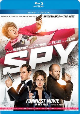Spy 2015 BluRay 450MB Hindi Dual Audio 480p ESub Watch Online Full Movie Download bolly4u