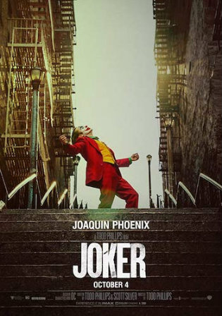 Joker 2019 HDCAM 800MB Hindi Dubbed 720p