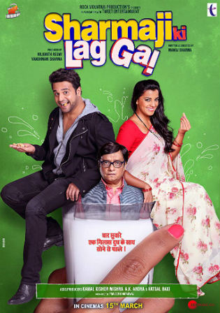 Sharmaji Ki Lag Gai 2019 HDRip 350Mb Full Hindi Movie Download 480p Watch Online Free bolly4u