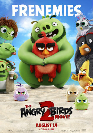 The Angry Birds Movie 2 2019 HC HDRip 700Mb Hindi Dual Audio 720p Watch Online Full Movie Download bolly4u