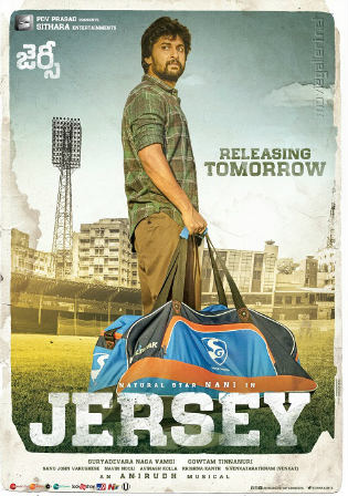 Jersey 2019 HDRip 900Mb Hindi Dubbed 720p