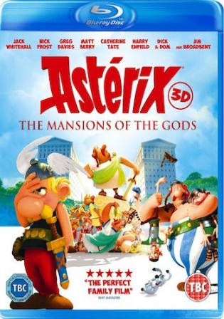 Asterix And Obelix Mansion Of The Gods 2014 BRRip 300Mb Hindi Dual Audio 480p