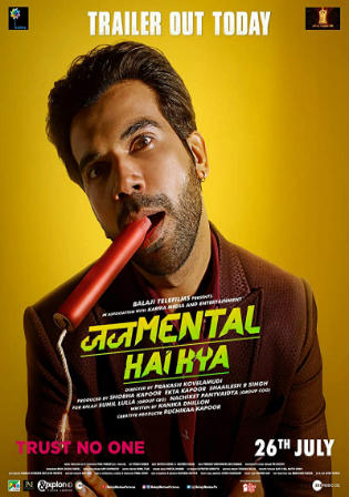Judgementall Hai Kya 2019 HDRip 800Mb Full Hindi Movie Download 720p