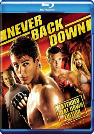 Never Back Down 2008 BluRay 300Mb Hindi Dual Audio 480p