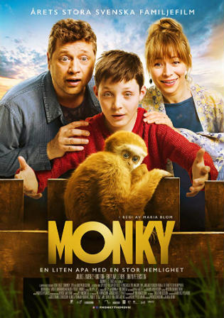 Monky 2017 BluRay 300MB Hindi Dual Audio 480p