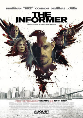 The Informer 2019 HDCAM 300MB Hindi Dual Audio 480p