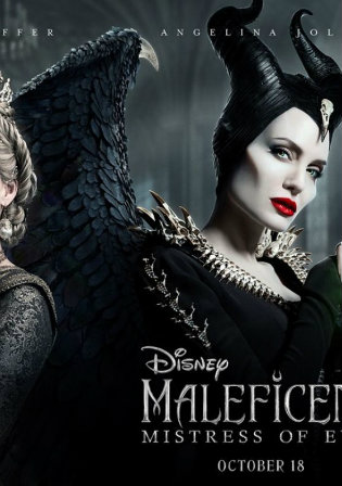 Maleficent Mistress of Evil 2019 HDCAM 300MB Hindi Dual Audio 480p