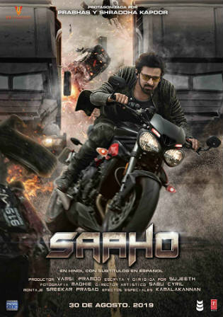 Saaho 2019 HDRip 1.1Gb Full Hindi Movie Download 720p