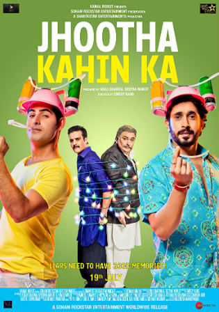 Jhootha Kahin Ka 2019 WEB-DL 900Mb Full Hindi Movie Download 720p