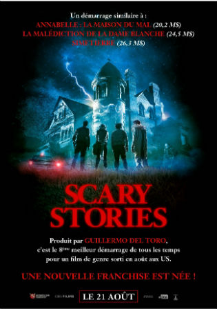 Scary Stories to Tell in the Dark 2019 HDRip 300MB English 480p ESubs