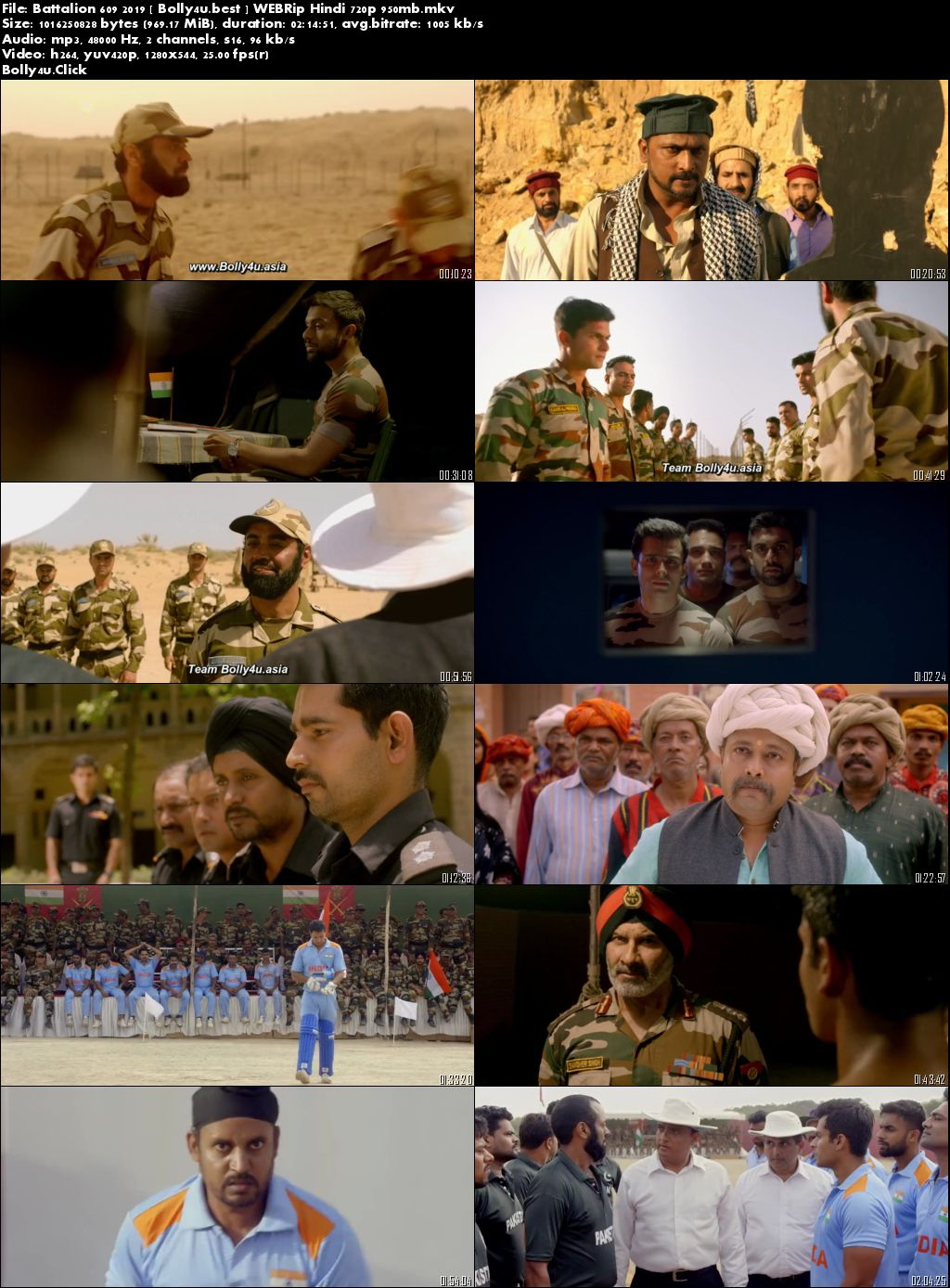 Battalion 609 2019 WEBRip 950Mb Full Hindi Movie Download 720p