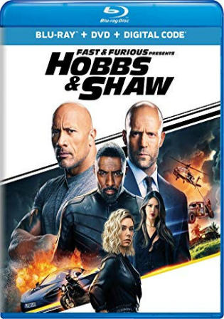 Fast and Furious Presents Hobbs and Shaw 2019 BRRip 450MB English 480p ESub