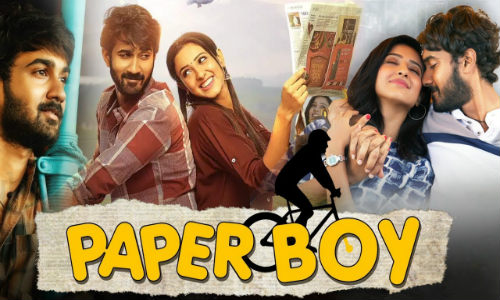 Paper Boy 2019 HDRip 300Mb Hindi Dubbed 480p