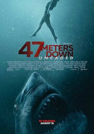 47 Meters Down Uncaged 2019 WEB-DL 300Mb English 480p ESub