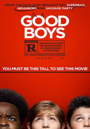 Good Boys 2019 WEB-DL 300MB English 480p ESub