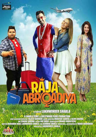 Raja Abroadiya 2019 HDTV 300MB Hindi 480p